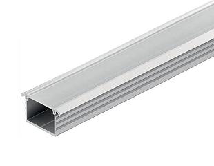 Hafele perfiles de aluminio para tiras led baukraft for Perfiles aluminio para muebles